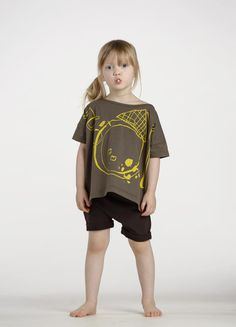 Papu ss16. Afterparty t-shirt & liquorice shorts.