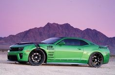 2010 Chevrolet Camaro Rs Synergy Green Side