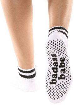 eaad6130b4a Barre and Pilates Designer Grip Socks