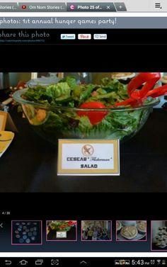 Caesar Flickerman salad :-p