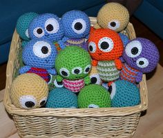 Amigurumi Little Monsters : 1000+ images about Monsters!! Rore on Pinterest Monsters ...