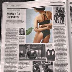 Latest Campaign Advertising Shoot Featured in Financial Review. Huge Congrats to Michel and Team!