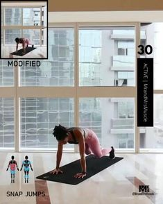 A full body HIIT workout — no equipment required Improve heart health, increase fat loss and strengthen and tone your muscles . Fitness Workouts, Full Body Hiit Workout, Gym Workout Videos, Fitness Workout For Women, At Home Workouts, Weight Workouts, Bike Workouts, Swimming Workouts, Swimming Tips