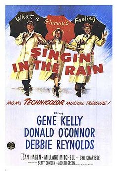 "Singin' In The Rain i loved it when they said ""no no no! yes yes yes!"""