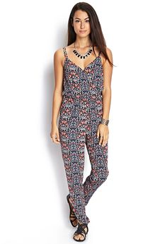 Floral Print Jumpsuit | FOREVER21 #F21Contemporary
