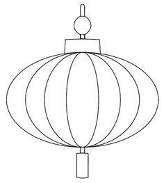 Chinese Lantern Printable