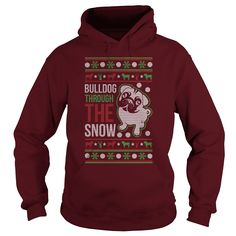 If you like Bulldogs then this t–shirt for you. Check out the t-shirt, hoodies and ladies tee. Click on notes for all kinds of great information about Bulldogs. Also please check out the links to the rescue clubs in notes Some pictures about Bulldog through the snow Christmas 2016