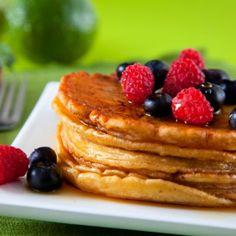 Double Berry Pancakes