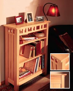 How to Build an Arts and Crafts Style Bookcase Project - Free Woodworking Plans | Rockler How-to