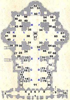 St. Peter's Basilica - Interactive Floorplan
