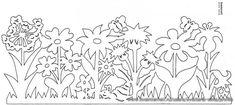 Вытынанка Весенние украшения. Обсуждение на LiveInternet - Российский Сервис Онлайн-Дневников
