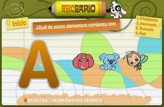 INICIO LECTOESCRITURA: Juega con el abecedario