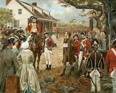 """""""Nathan Hale - September 22, 1776"""" by Don Troiani"""