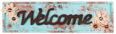 Welcome Patina Sign - Click through for project instructions.