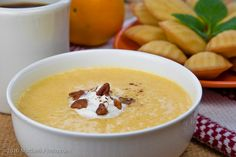 Chilled Cinnamon Peach Soup