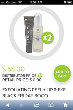 BOGO Black FRIDAY - Has Been Extended till CYBER MONDAY!! Exfoliates & Lessen Fine Lines!! No More Wrinkles w/ It WORKS!!! Comment below or go to http://wrappinmscabral .myitworks .com (W/No Spaces)   HurryThis Offer Ends on the 29th!!