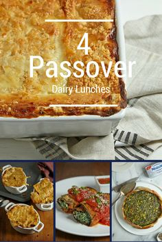 Check out some of our Passover Dairy Lunch Mains.   #philly4passover #ad