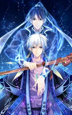 Spiritpact......I like the couple but there is a mystery I dn't read manga yet