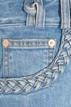 yo elijo coser: DIY: personalizar una falda o un pantalón (copiando a SEE BY CHLOË)