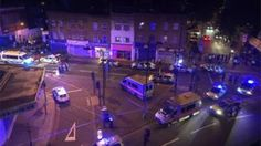 """Finsbury Park attack: Man dies as van hits worshippers - Eight people were taken to hospital after the """"terrorist attack"""" near Finsbury Park Mosque, police said."""