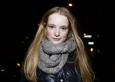 Maud Welzen (in) After Tommy Hilfiger FW 11.12