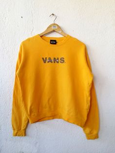 "Vans Sweatshirt Women USA Jumper Pullover Size M|Measurement details; armpit: 22.5"" inches