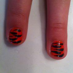 Tiger stripes by Emma