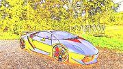 """New artwork for sale! - """" Lamborghini Sesto Elemento Cars   by PixBreak Art """" - http://ift.tt/2l0e7XY"""