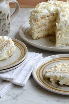This brilliant coconut cake recipe from Karen Burns-Booth is beautifully light…