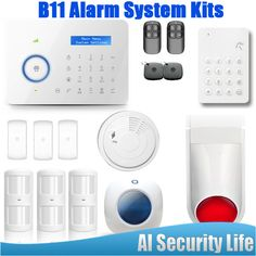 B11 Dual network PSTN /GSM Alarm System For Home Safety Wireless Outdoor Strobe Siren  #Affiliate