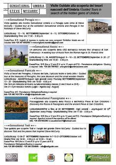 Sensational Umbria, Sensational TODI! Guided Tours, Summer 2014
