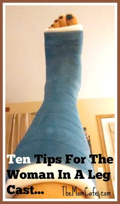 im thankful im not in a cast like that. id die without my walking boot. i hate casts ive had enough. but these tips are helpful