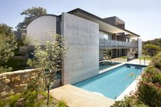 Australian studio Popov Bass #Architects has completed the Mosman #House project in 2010.  This three story #contemporary #home is located in #Sydney, New South Wales, Australia.