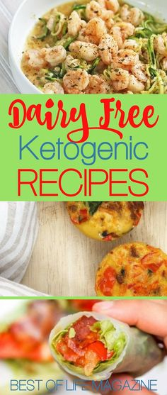 If you are in need of some of the best dairy free ketogenic recipes to stay healthy and get healthier you should start your search right here.