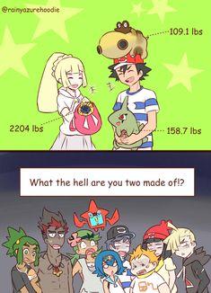 Strength | Pokémon Sun and Moon | Know Your Meme