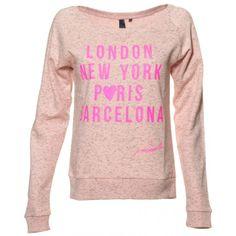 London Sweater - Pink Melange *COLLECTORS ITEM*