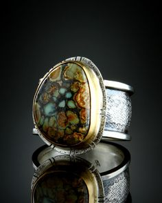Lander County Turquoise Ring