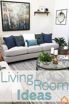 Your living room is where you'll spend the most time with the whole family. Create a space everyone can enjoy with a neutral color palette and chic accessories. The possibilities are endless so check out these other ideas!