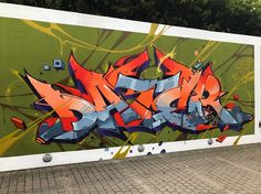 "School of Style"" in Luxembourg. Graffiti Lettering Alphabet, Graffiti Writing, Graffiti Wall Art, Best Graffiti, Street Graffiti, Graffiti Artists, Graffiti Pictures, Font Art, Wildstyle"