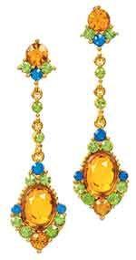 The Met Store - Jeweled Chandelier Earrings