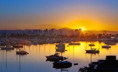 Sunrise on San Diego Bay