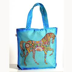 Animal Theme Bag - Folk-Horse