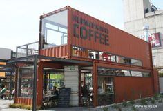 Re:Start Shipping Container Mall - Hummingbrid Coffee