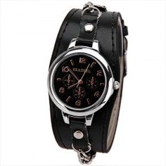SHARE & Get it FREE   Cute Quartz Watch with Arabic Numbers Indicate Leather Watch Band for WomenFor Fashion Lovers only:80,000+ Items • FREE SHIPPING Join Twinkledeals: Get YOUR $50 NOW!
