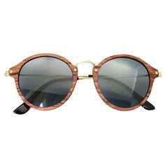 Ultralight Women Polarized Sunglasses Sycamore Frame Metal legs Original Brand Design