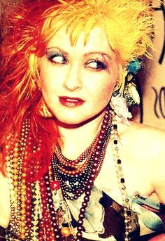 Cyndi Lauper!! She's so beautiful!!!!