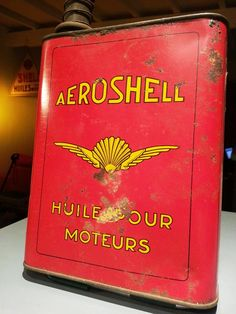 Aeroshell Tin Can Oil