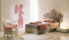 Letto Princess Dream di Di Liddo & Perego | Collezione: Domino Chic | Anno: 2007 | Materiali: Pelle