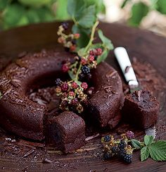 Dense beetroot and chocolate cake
