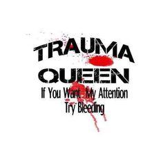 I'm addicted to Trauma Paramedic Humor, Ems Humor, Firefighter Paramedic, Medical Humor, Nurse Humor, Funny Medical, Flight Nurse, Trauma Nurse, Emergency Medical Services